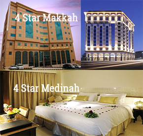 4 Star Makkah and Medinah
