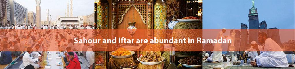 Sahour and Iftar